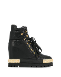 Casadei Concealed Wedge Sneaker Boots