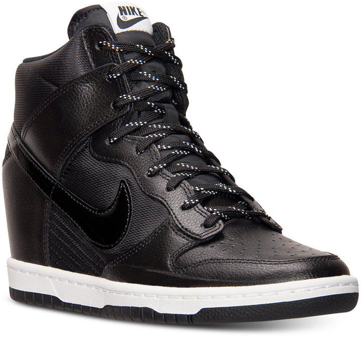 cheap for discount f9ebd 26468 ... where to buy wedge sneakers nike dunk sky hi essential sneakers from  finish line 2d67e 9281b
