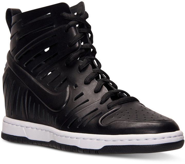 free shipping 34fba 0cf4a ... Nike Dunk Sky Hi Joli Casual Sneakers From Finish Line ...
