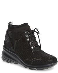 Jambu Offbeat Perforated Wedge Sneaker