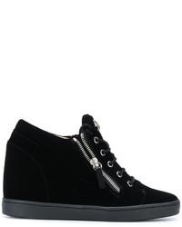 Giuseppe Zanotti Design Sonya Wedge Sneakers