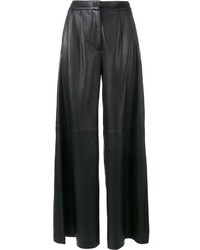 ADAM by Adam Lippes Adam Lippes Flared Leather Trousers