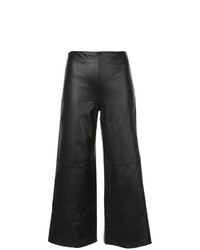 Adam Lippes Cropped Wide Leg Trousers