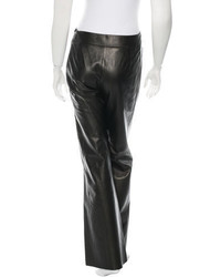 Kenzo Leather Wide Leg Pants