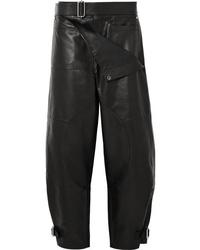 JW Anderson Leather Wide Leg Pants