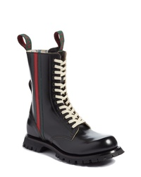 91906b19e8189 Men s Leather Boots by Gucci