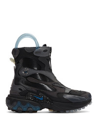 Nike Black And Blue Undercover Edition React Boot