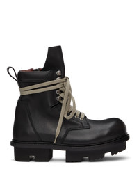 Rick Owens Black Army Megatooth Boot