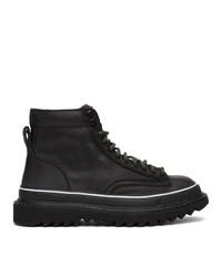 Diesel Black H Shiroki Dmbb Sneakers