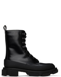 Both Black High Gao Boots