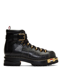 Thom Browne Black Hiking Boots