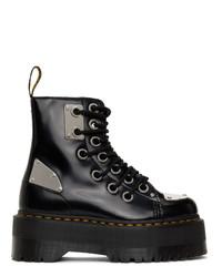 Dr. Martens Black Jadon Max Rebel Boots
