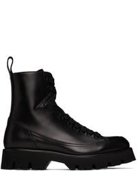 Versace Black Leonidas Boots