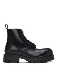 Balenciaga Black Strike Boots