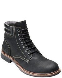 Cole Haan Bryce Leather Lace Up Boots