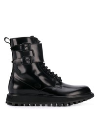 Dolce & Gabbana Buckled High Top Boots
