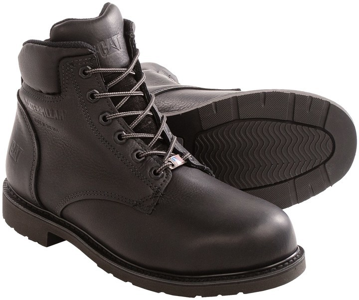Caterpillar Liberty Work Boots Steel Toe 6 | Where to buy & how to ...