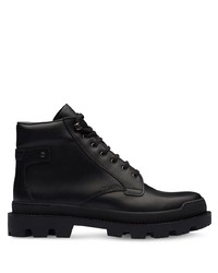 Prada Chunky Sole Ankle Boots