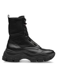 Prada Chunky Sole Combat Boots