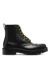 Salvatore Ferragamo Contrast Lace Boots