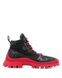 DSQUARED2 Contrasting Sole Ankle Boots