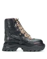 Off-White Equipt Platform Boots