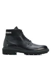 Emporio Armani Lace Up Boots