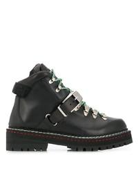 Versace Medusa Head Hiking Boots