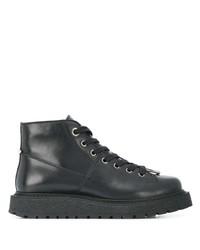 Neil Barrett Pierced Hiking Boots