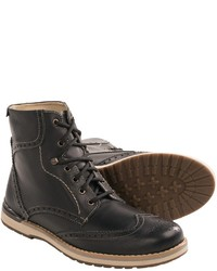 Testosterone Whip It Up Leather Wingtip Boots