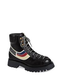 Gucci Web Hiking Boot