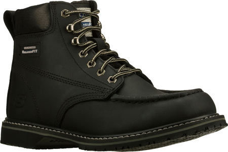 c49229dc46916 ... Skechers Work Relaxed Fit On Site Verto Sr Black Safety Shoes