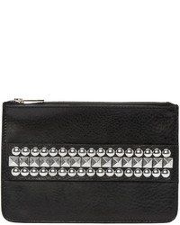 DSQUARED2 Black Studded Zip Pouch