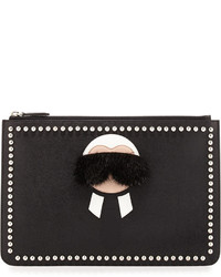 Karlito pouch with mink fur detail medium 609292