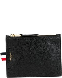 Thom Browne Classic Zip Pouch