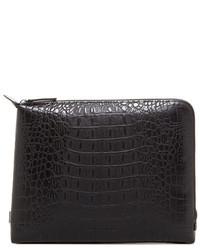 Ben Minkoff Warren Embossed Leather Pouch