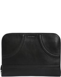 Alexander McQueen Zip Around Leather Pouch