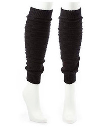 Charlotte Russe Checkerboard Knit Leg Warmers