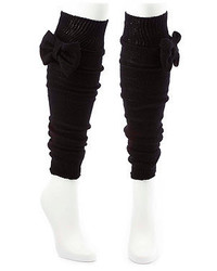 Charlotte Russe Knit Bow Leg Warmers