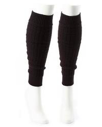 Charlotte Russe Waffle Knit Leg Warmers