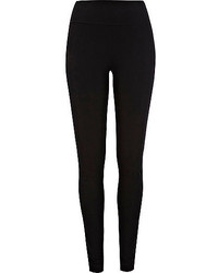 River Island Black Jersey High Rise Extra Long Leggings