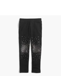 J.Crew Girls Cozy Everyday Leggings In Sparkle Splatter