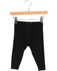 Bonpoint Girls Elasticized Woven Leggings