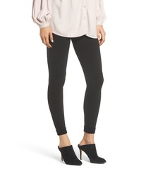 Hue High Waist Brushed Ponte Leggings