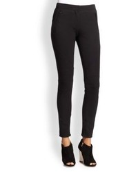 Burberry London Seamed Moto Leggings