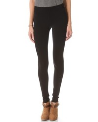 Stitched fleece lined leggings medium 139580