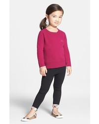 Burberry Toddler Girls Check Cuff Pants