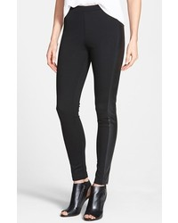 Vince Camuto Two By Faux Leather Trim Leggings