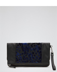 Arlo print print fold over clutch medium 41484