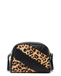 Sole Society Linza Genuine Calf Hair Crossbody Bag